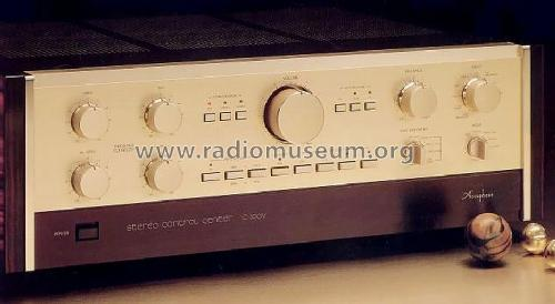 Stereo Control Center C-200V; Accuphase Laboratory (ID = 675758) Ampl/Mixer