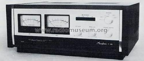 stereo power amplifier p 250 ampl mixer accuphase laboratory. Black Bedroom Furniture Sets. Home Design Ideas