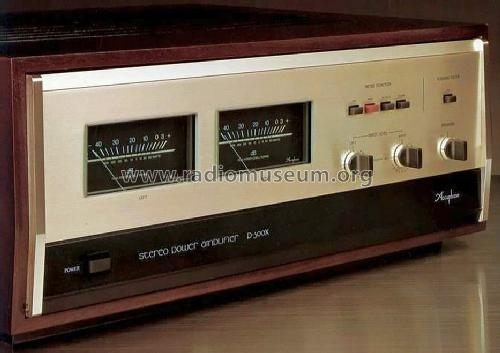 Stereo Power Amplifier P-300X; Accuphase Laboratory (ID = 677160) Ampl/Mixer