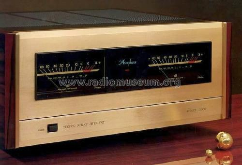 stereo power amplifier p 500 ampl mixer accuphase laboratory. Black Bedroom Furniture Sets. Home Design Ideas