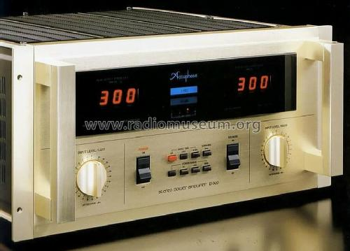 stereo power amplifier p 600 ampl mixer accuphase laboratory. Black Bedroom Furniture Sets. Home Design Ideas
