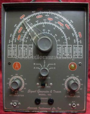 153 Signal Generator and Tracer ; Accurate Instrument (ID = 1135995) Equipment