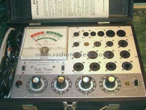 Tube Tester 257; Accurate Instrument (ID = 757707) Equipment