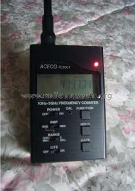 Frequency Counter FC- 2001; ACECO Electronics (ID = 1404103) Equipment