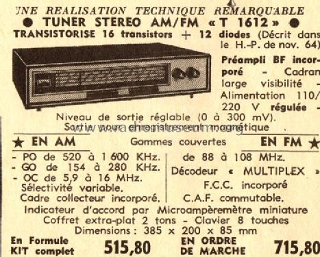 Tuner T1612; ACER A.C.E.R. / (ID = 542225) Radio