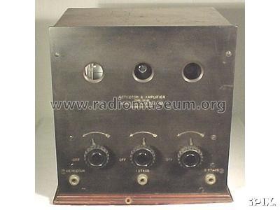 Detector 2 Stage Amplifier DY-12; Acme Apparatus Co.; (ID = 950700) mod-past25