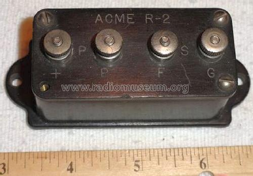 Radio Frequency Amplifying Transformer R-2; Acme Apparatus Co.; (ID = 1307322) Radio part