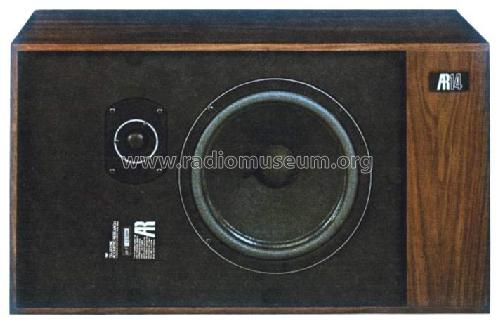 AR14 ; Acoustic Research (ID = 563484) Speaker-P