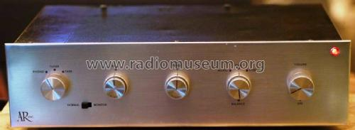 AR Amplifier ; Acoustic Research (ID = 2394530) Ampl/Mixer
