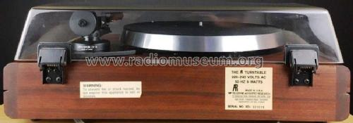 The AR Turntable R-Player Acoustic Research Inc
