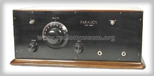 Paragon Four ; Adams-Morgan Co. (ID = 301629) Radio