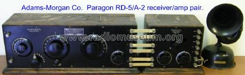 Paragon RD5A2 ; Adams-Morgan Co. (ID = 827991) Radio