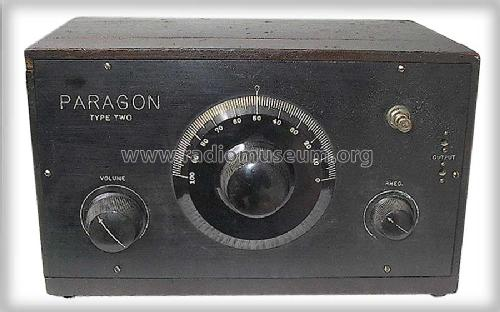 Paragon Two ; Adams-Morgan Co. (ID = 266383) Radio
