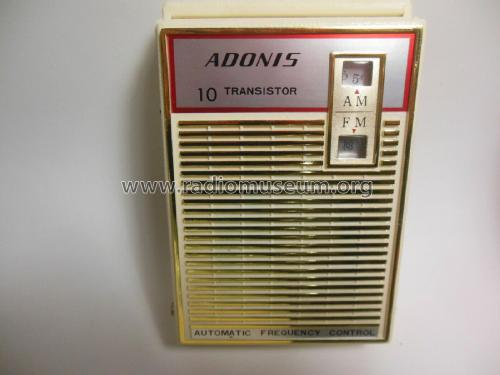 10 Transistor Automatic Frequency Control J-675; Adonis Electronics (ID = 2503852) Radio