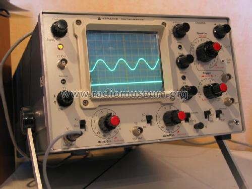 General purpose oscilloscope OS1000A; Advance Instruments; (ID = 514750) Equipment