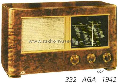 332; AGA and Aga-Baltic (ID = 1296) Radio