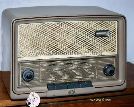 Minette 3025 O; AGA and Aga-Baltic (ID = 1209094) Radio