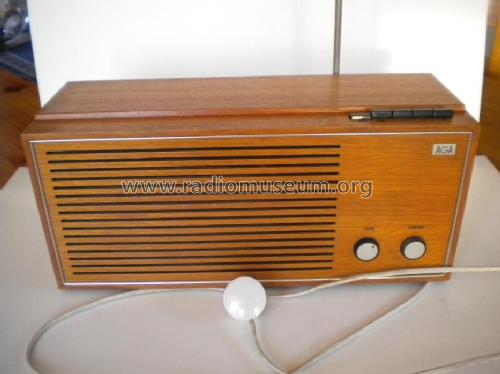 Transistor 3552; AGA and Aga-Baltic (ID = 969880) Radio