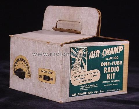 One-Tube Radio Kit AC100 Kit Air Champ Sales Co