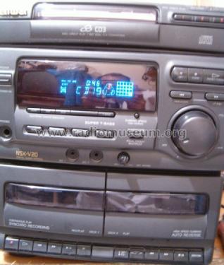 compact disc stereo system nsx v20 radio aiwa co ltd to rh radiomuseum org Aiwa Nsx D22 Aiwa Nsx 9.99 Digital MKI