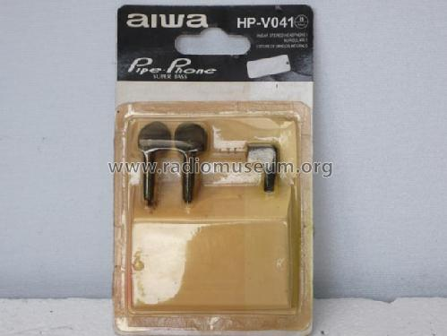 In Ear Stereo Headphones HP V041; Aiwa Co. Ltd.; Tokyo (ID = 1685083) Speaker-P