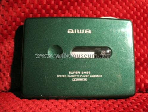 Aiwa Cassette Player Stereo Cassette Player Lx200