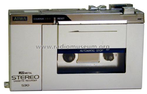 Aiwa Cassette Recorder Stereo Cassette Tape Recorder