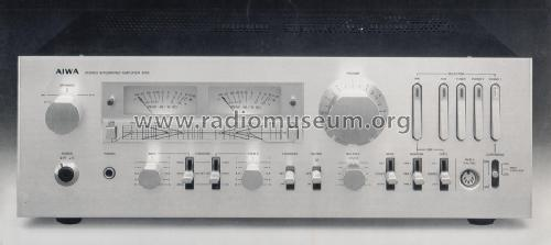 Stereo Integrated Amplifier AA-8700; Aiwa Co. Ltd.; Tokyo (ID = 1224560) Ampl/Mixer