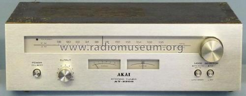 AT-2200; Akai Electric Co., (ID = 599823) Radio