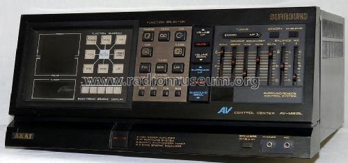 AV Control Center AV-M313 E, V; Akai Electric Co., (ID = 625372) Radio