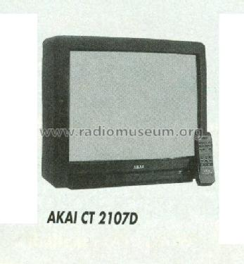 Akai, Tokyo Colour Television CT2107D uploaded by Sandor Selyem-Tóth (2) .