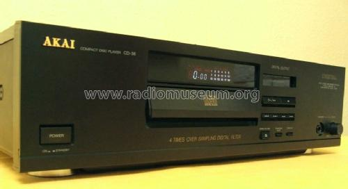 Compact Disc Player CD-36; Akai Electric Co., (ID = 1179406) R-Player