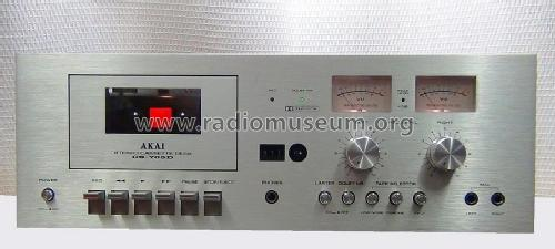 CS-705D; Akai Electric Co., (ID = 1714065) Reg-Riprod