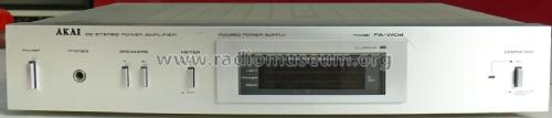 DC Stereo Power Amplifier PA-W04; Akai Electric Co., (ID = 2035759) Ampl/Mixer
