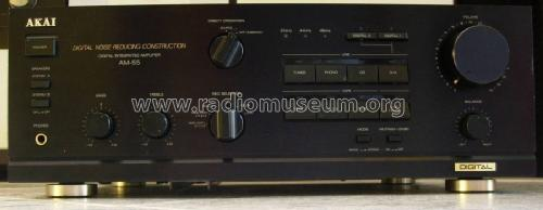 Digital Integrated Amplifier AM-55; Akai Electric Co., (ID = 1178813) Ampl/Mixer