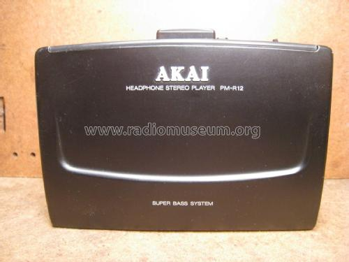 Headphone Stereo Player PM-R12; Akai Electric Co., (ID = 2034787) R-Player
