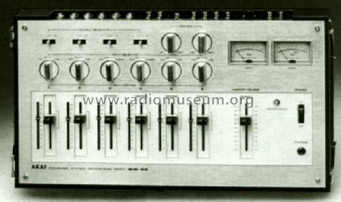 MM-62; Akai Electric Co., (ID = 562414) Ampl/Mixer