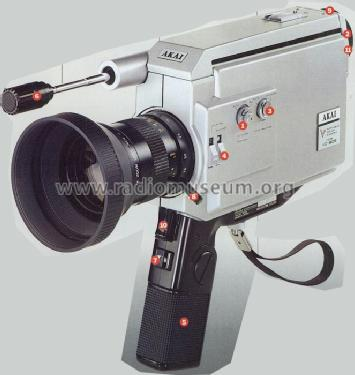 Portable Color Camera VC-90E; Akai Electric Co., (ID = 460511) Misc
