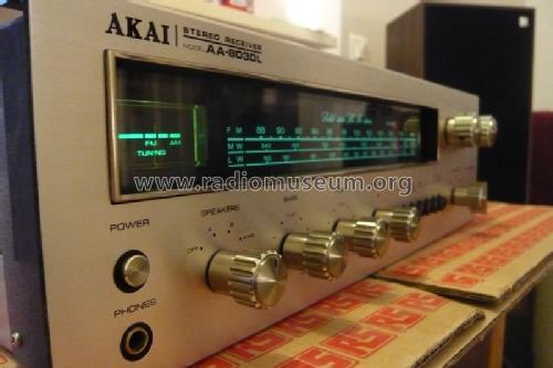 Akai Tokyo Receiver AA 8030L Radio ID = 1199525 800x533