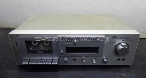Stereo Cassette Deck CS-M02; Akai Electric Co., (ID = 2349937) R-Player