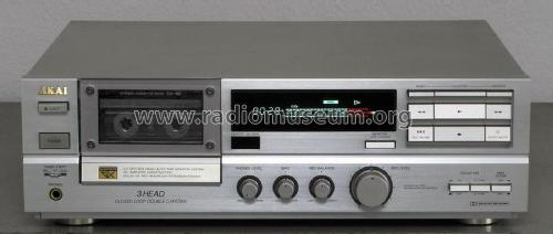 Stereo Cassette Deck GX-65; Akai Electric Co., (ID = 1817878) R-Player