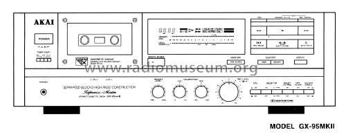 stereo cassette deck gx