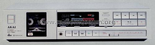 Stereo Cassette Deck GX-R60; Akai Electric Co., (ID = 1239133) R-Player