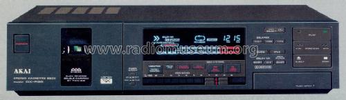 Stereo Cassette Deck GX-R88; Akai Electric Co., (ID = 1239131) R-Player