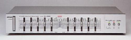 Stereo Graphic Equalizer EA-G 30; Akai, Tokyo (ID = 663815) Ampl/Mixer
