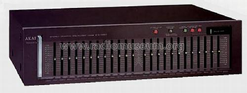 Stereo Graphic Equalizer EA-G90BL; Akai Electric Co., (ID = 663817) Ampl/Mixer