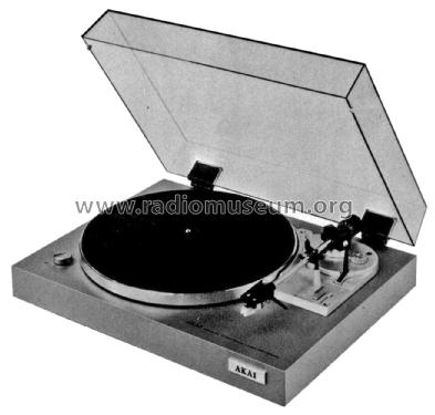 Turntable AP-B10C; Akai Electric Co., (ID = 1923021) R-Player