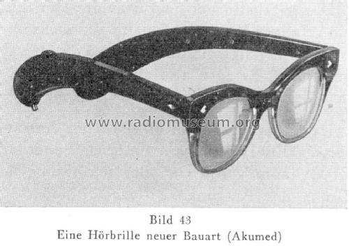 Hörbrille ; Accumed, Berlin (ID = 804295) Misc