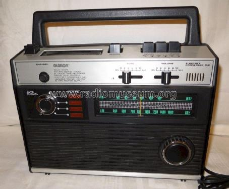 Solid State FM-AM 2Band Radio 8 Track Tape Recorder B-848; Alaron Inc.; Auburn (ID = 1736367) Radio