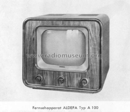 Aldepa A-100; Albis, Albiswerke AG (ID = 1034731) Television